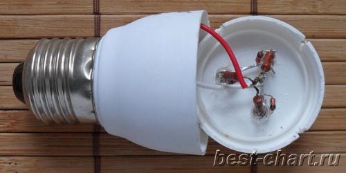 Светодиодная лампа старт схема фото 57